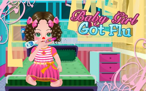 Baby Girl Got Flu - Girl Games