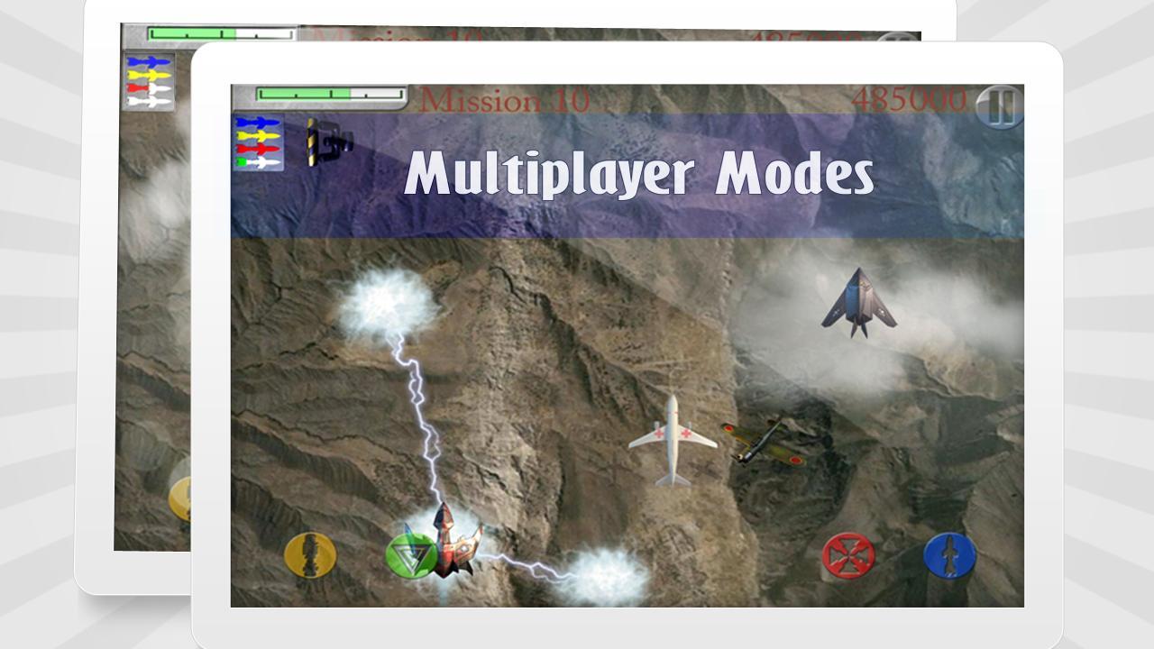 Sky Heroes free- screenshot