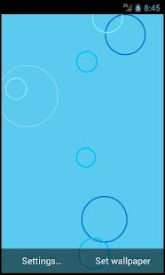 Pretty Circles Live Wallpaper - screenshot thumbnail