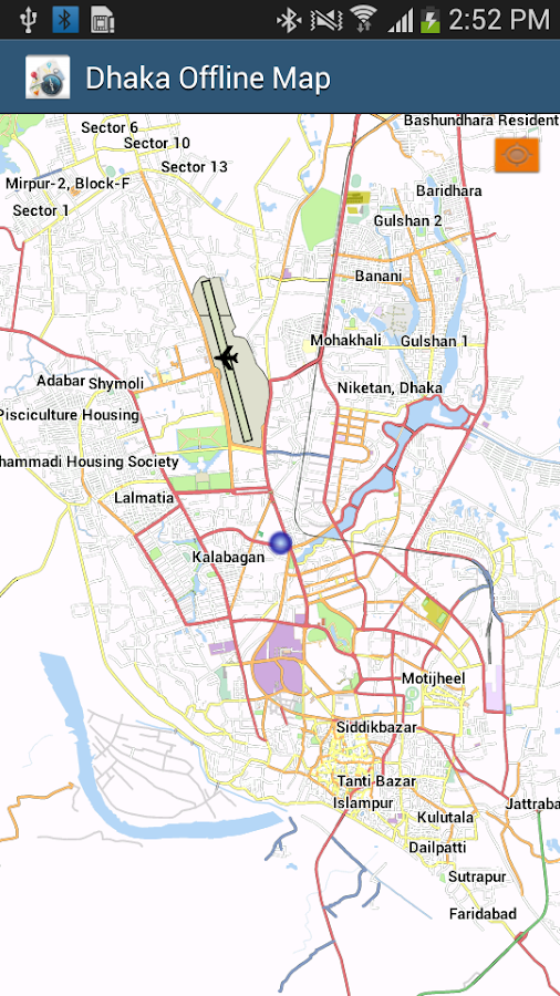 Dhaka Offline Map Android Apps on Google Play