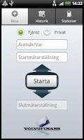 Screenshot of Körjournal