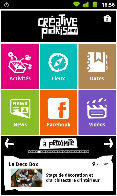 Creative Paris- screenshot