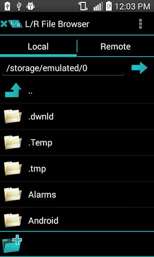 L R File Browser