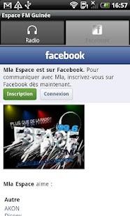 ESPACE FM GUINEE - screenshot thumbnail