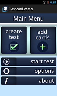 Flashcard Quiz Creator - screenshot thumbnail