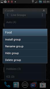 Live Groups - screenshot thumbnail