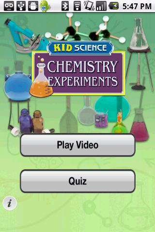 Kid Science: Chemistry - screenshot