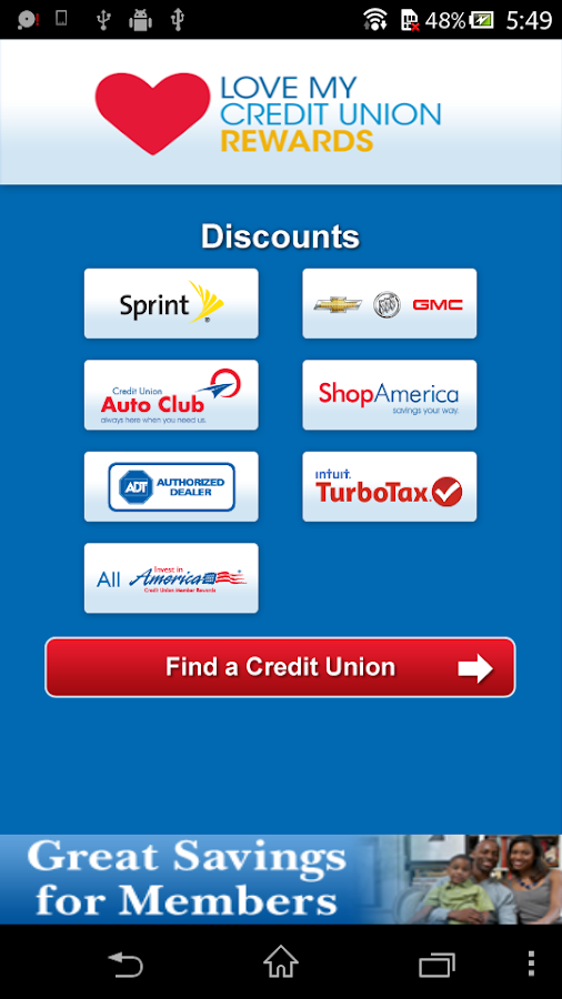 Love My Credit Union Rewards- screenshot