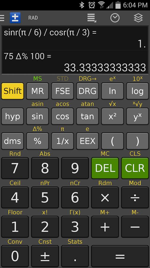 Scientific Calculator - FREE - screenshot