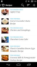 Recipe, Menu & Cooking Planner Screenshot 1