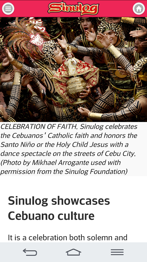 Sinulog Guide - screenshot