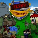 Pesky Humans 2D strategy game