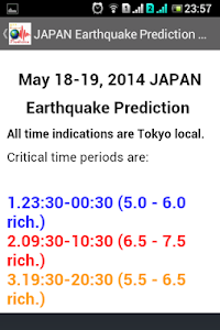 Earthquake Prediction screenshot 13