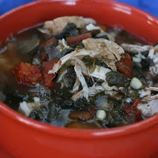 Smoky Turkey and Black Bean Soup.