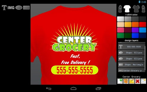T-shirt Designer - screenshot thumbnail