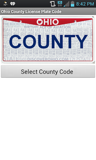 Ohio County Number Code Tool