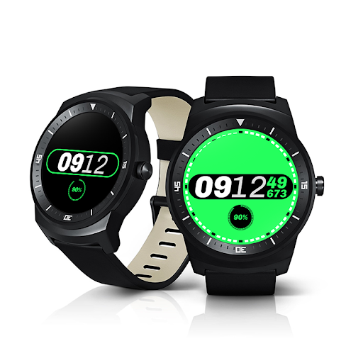 Milliseconds for Android Wear