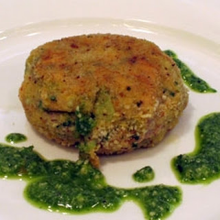 Leftovers Fish Cakes With Pesto