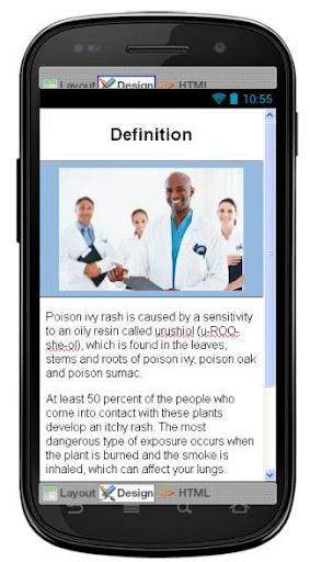 Poison Ivy Disease Symptoms