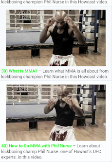 MMA UFC Trainingのおすすめ画像2