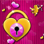Tema rosa precioso GO Locker icon