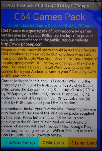 C64 Games Pack