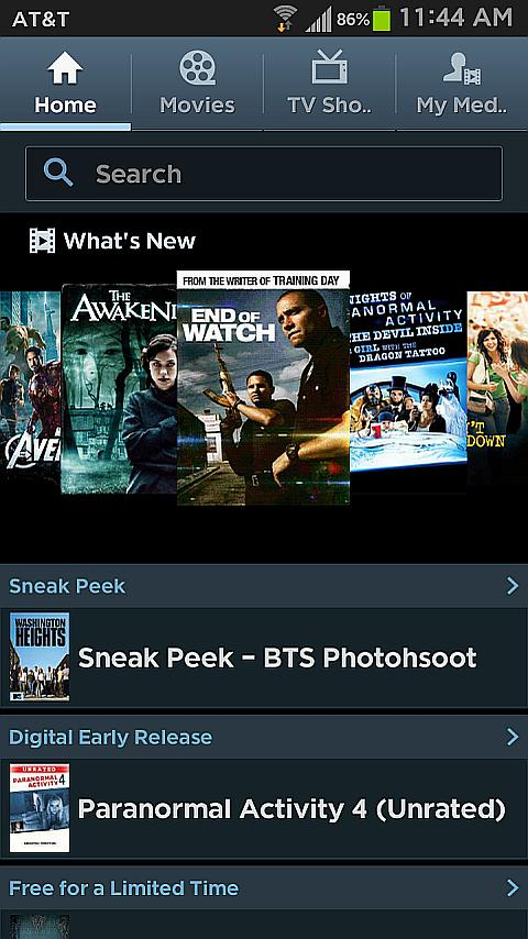 Samsung Media Hub - screenshot