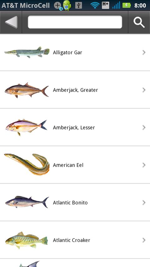 Gulf state fishing regulations android apps on google play for Texas fishing regulations