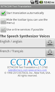French Offline Translator - screenshot thumbnail