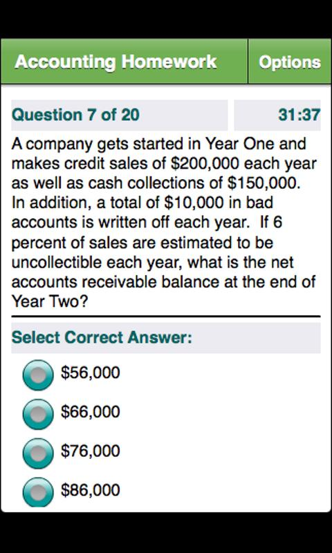 College Financial Accounting- screenshot