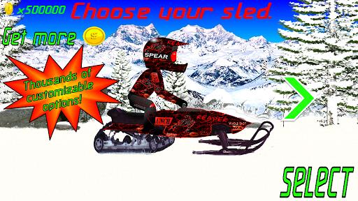 Pro Snocross Racing screenshot
