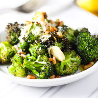 Roasted Broccoli with Lemon, Garlic and Parmesan Recipe