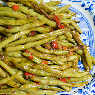 Fresh Green Beans, One Way.