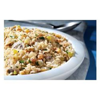 Quick Brown Rice and Mushroom Pilaf