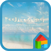 Summer dodol launcher theme