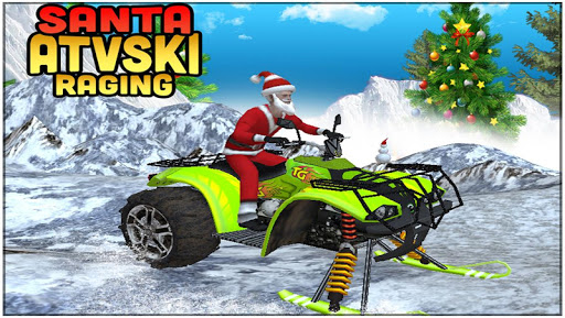 Santa ATV Ski Raging