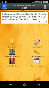 Norsk Bibel screenshot