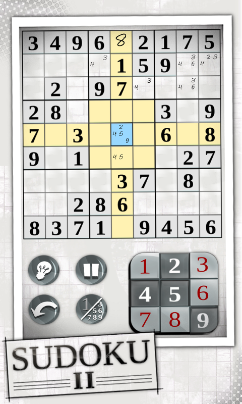Sudoku 2- screenshot