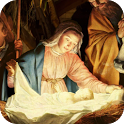 Jesus in Manger Live Wallpaper icon