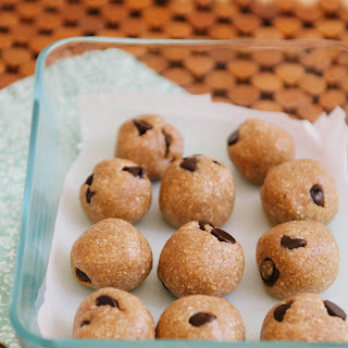Raw Chocolate Chip Cookie Dough Bites.