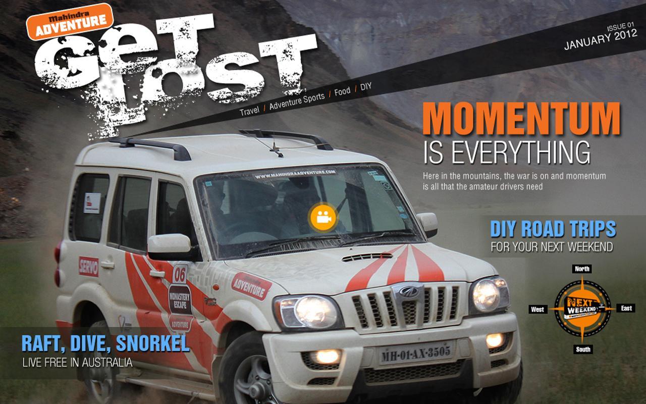 Mahindra Adventure - Get Lost- screenshot