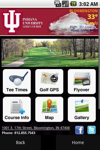 Indiana University Golf Course