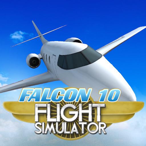 Private Jet Flight Simulator