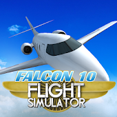 Flight Simulator: Falcon 10