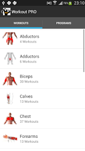 Workout PRO - screenshot thumbnail