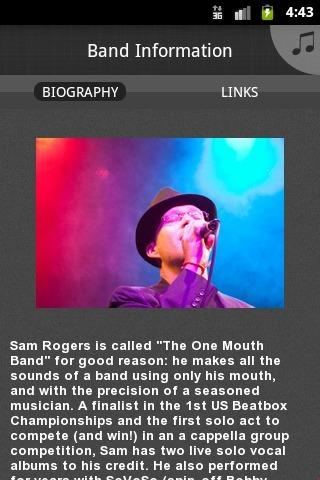 Sam Rogers - screenshot