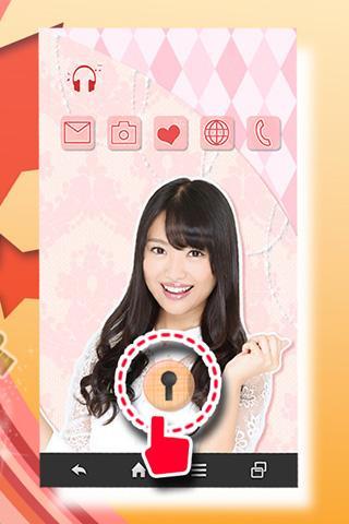 無料娱乐AppのAKB48北原里英ロックスクリーンきせかえ|記事Game