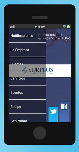 Surplus Bolivia