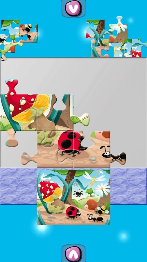 Kids Play Puzzle Paint - screenshot