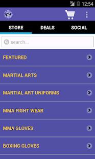 Martial Art Shop - náhled
